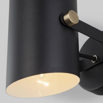 Настенный светильник с поворотным плафоном 20093/1 черный