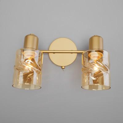 Настенный светильник с выключателем 20120/2 перламутровое золото