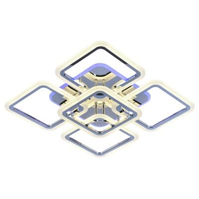 Светодиодная регулируемая  люстра 8075/4+1  CHR Хром
