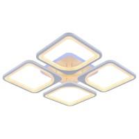 Светодиодная регулируемая потолочная люстра 8057/4 WHT Белая