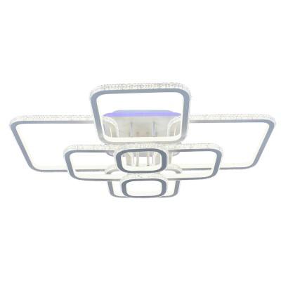 Светодиодная люстра 8019/8 WHT 552W+10W RGB