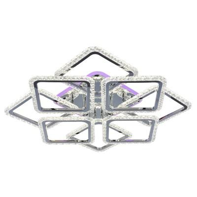 Светодиодная люстра 18029/8 CHR ХРОМ