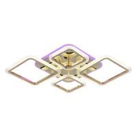Светодиодная люстра 1375/2+2 FGD золото