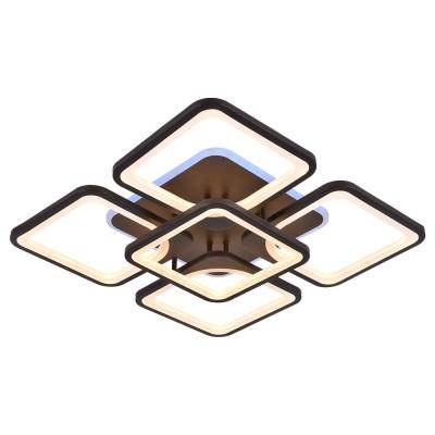 Светодиодная люстра 8057/4+1 COF КОФЕ
