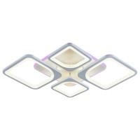 Светодиодная регулируемая потолочная люстра 8057/2+2 WHT БЕЛАЯ