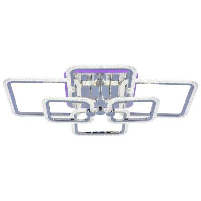 Светодиодная регулируемая  люстра  Profit Light  8060/6 CHR ХРОМ