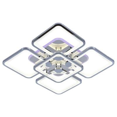 Светодиодная люстра 8057/4+1 CHR ХРОМ