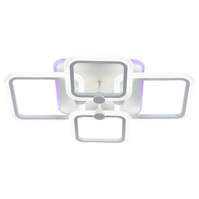 Светодиодная люстра с подсветкой 18070/4 WHT