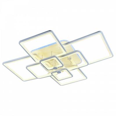 Светодиодная люстра регулируемая с подсветкой Profit Light  8083/8 WHT
