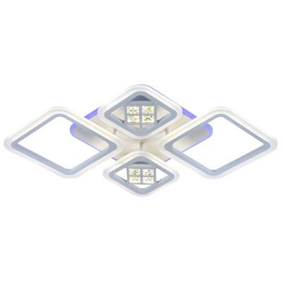 Светодиодная регулируемая люстра 18024/2+2 WHT