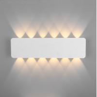 Настенный светодиодный светильник Eurosvet 40139/1 LED белый