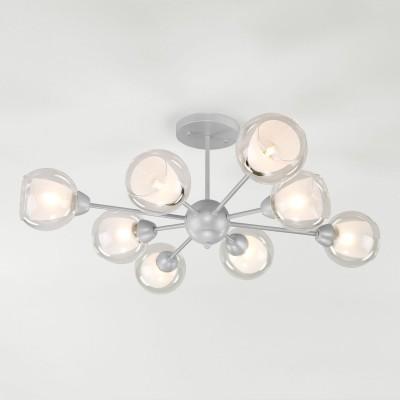 Потолочная люстра Eurosvet Vivien 30163/8 серебро