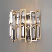 Настенный светильник Bogates Zolletta 313/2 Strotskis с хрусталем