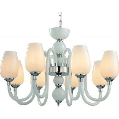 Подвесная люстра Arte Lamp A1404LM-8WH