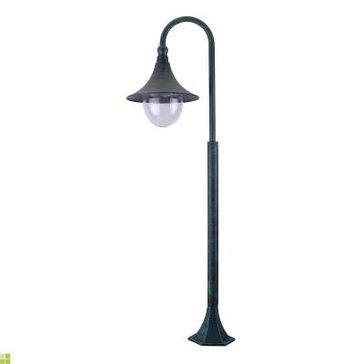 Столб фонарный уличный Arte Lamp MALAGA A1086PA-1BG