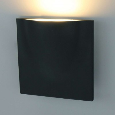 Уличный настенный светильник Tasca A8512AL-1GY