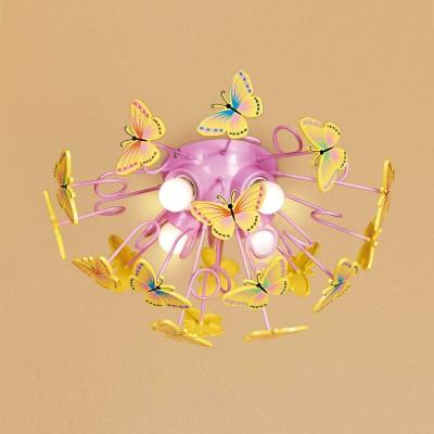 Люстра для детской Бабочки CL603142